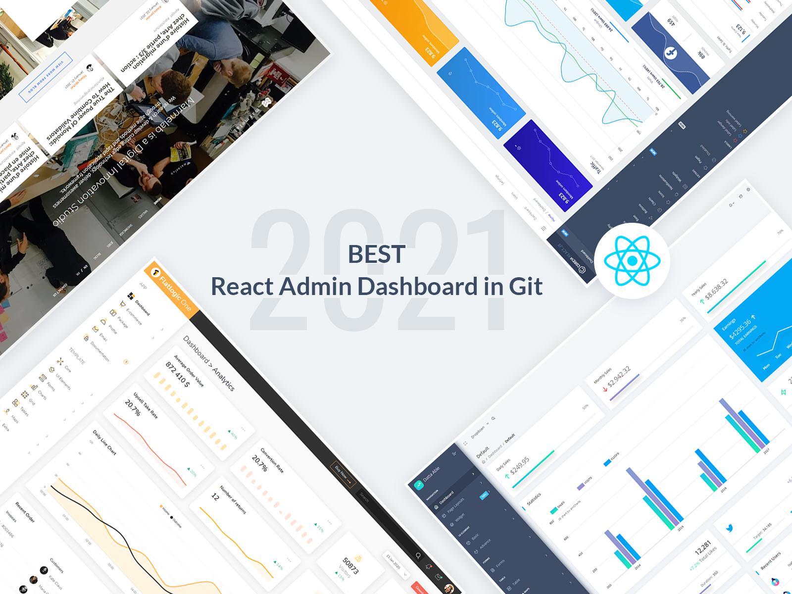React Admin Dashboard in GitHub